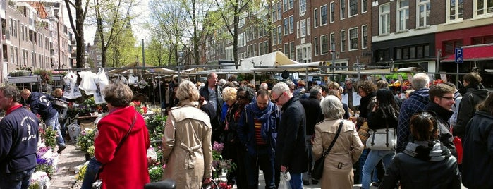 Lindengracht Markt is one of De Jordaan 1/2.
