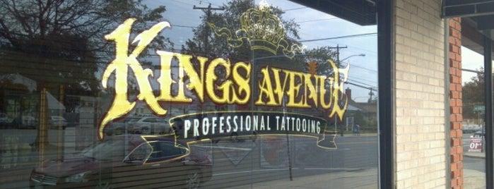 Kings Ave Tattoo is one of สถานที่ที่ Dabian ถูกใจ.