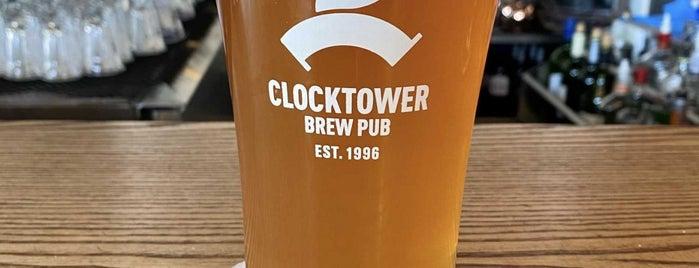 Clocktower Brew Pub is one of Lugares favoritos de Sabrina.