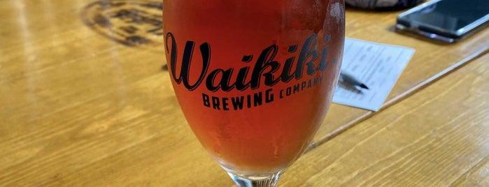 Waikīkī Brewing Company is one of Hawaii.