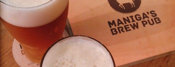 Maniga's Brew Pub is one of Brejas Premium.