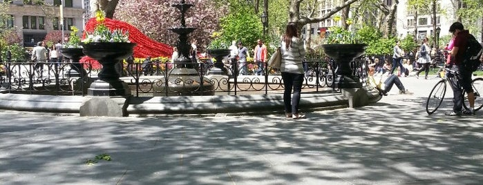 Madison Square Park is one of NEW YORK CITY : Manhattan in 10 days! #NYC enjoy.