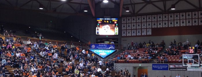 Alex G Spanos Center is one of NCAA Division I Basketball Arenas Part Deaux.