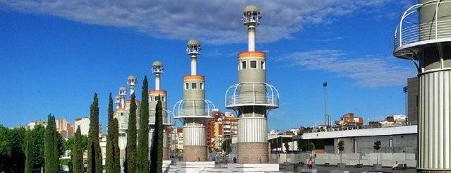 Parc de l'Espanya Industrial is one of Ruta a Sants-Montjuïc. La ruta verda.