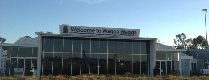 Wagga Wagga Airport (WGA) is one of States.