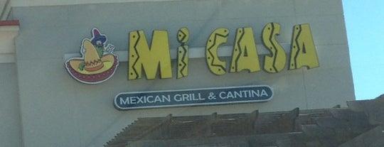 Mi Casa Mexican Restaraunt is one of สถานที่ที่ Gillian ถูกใจ.