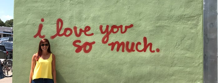 I Love You So Much Graffiti is one of Austin.