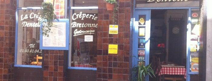 La Crêpe Dentelle is one of Paris.