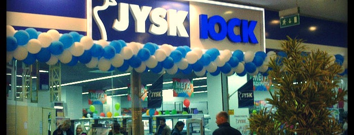 JYSK is one of Ucrania.