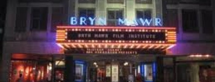 Bryn Mawr Film Institute is one of Tempat yang Disukai David.