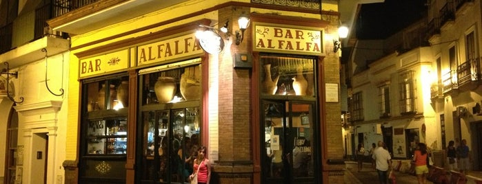Bar Alfalfa is one of tapas.