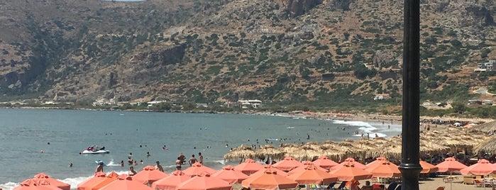 Paleochora Beach is one of Orte, die Konstantinos gefallen.