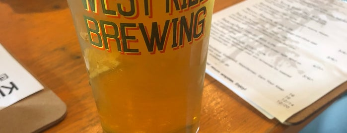 West Kill Brewing is one of Catskills.