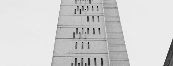 Trellick Tower is one of my favorite.