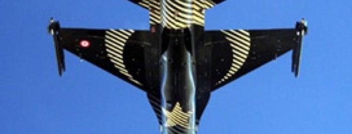 F-16 Solo Turk Prova Alani is one of cagri caglar'ın Beğendiği Mekanlar.