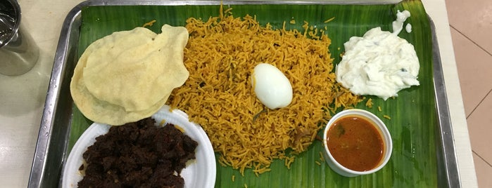 Sakunthala's Restaurant is one of Good food in Singapore.