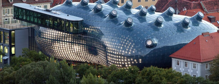 Kunsthaus Graz is one of Austria #4sq365at Oans (One).