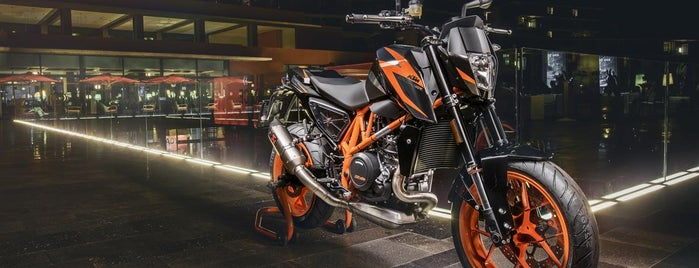KTM Sportmotorcycle AG is one of Austria #4sq365at Oans (One).