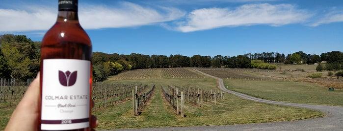 Colmar Estate Vineyard is one of Orange, NSW.