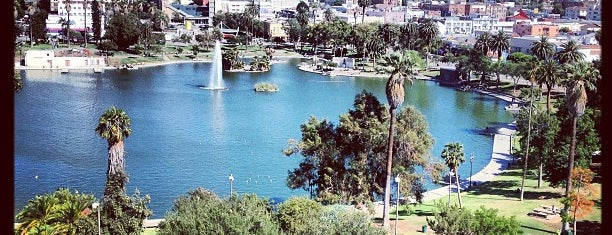 MacArthur Park is one of Historic Route 66.