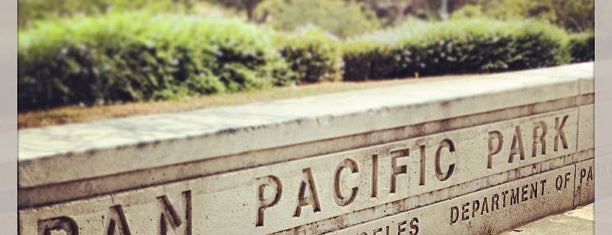Pan Pacific Park is one of LA.