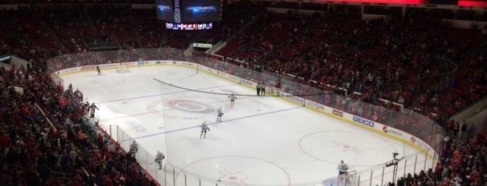 PNC Arena is one of Lieux qui ont plu à Jake.