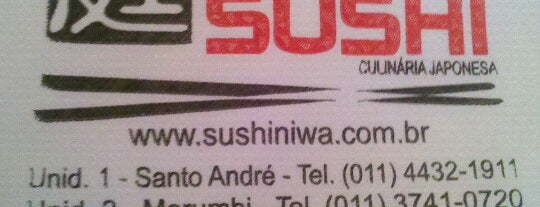 Niwa Sushi is one of Quero conhecer.