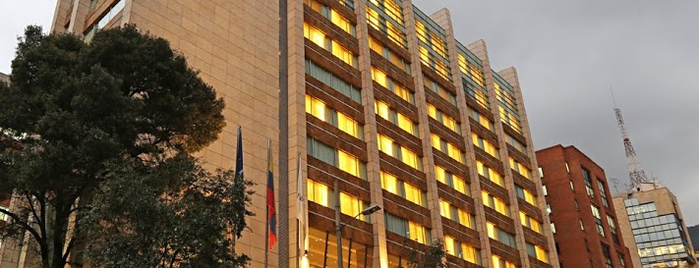 JW Marriott Hotel Bogota is one of Mauricio 님이 좋아한 장소.