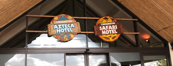 Azteca Hotel is one of Hotel History.