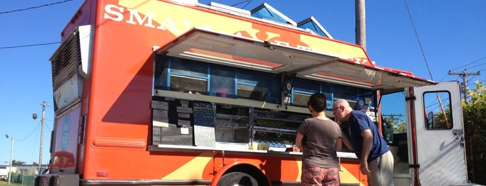 Small Axe Food Truck is one of Posti salvati di Christopher.
