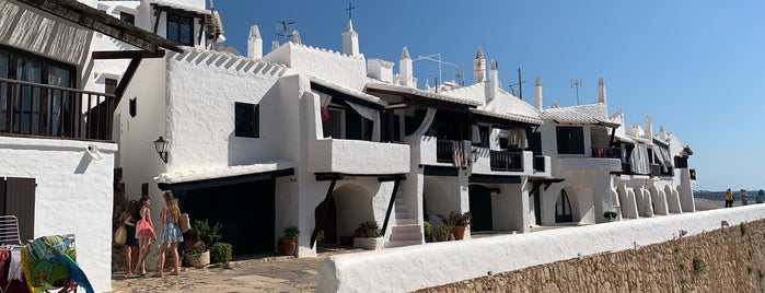 Binibeca Vell is one of Menorca.