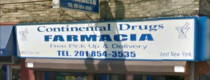 Continental Drugs Farmacia is one of Andrew 님이 좋아한 장소.