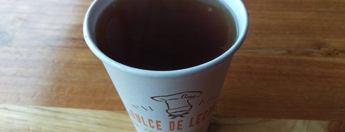 Dulce de Leche Argentine Bakery is one of Tempat yang Disukai Andrew.