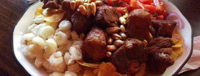 Cipo Ecuadorian Restaurant is one of Tempat yang Disukai Andrew.