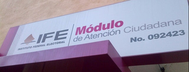 INE Módulo Paris is one of สถานที่ที่บันทึกไว้ของ Jose Felipe.