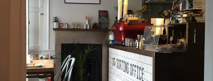 The Sorting Office Coffeehouse is one of Cornwall.