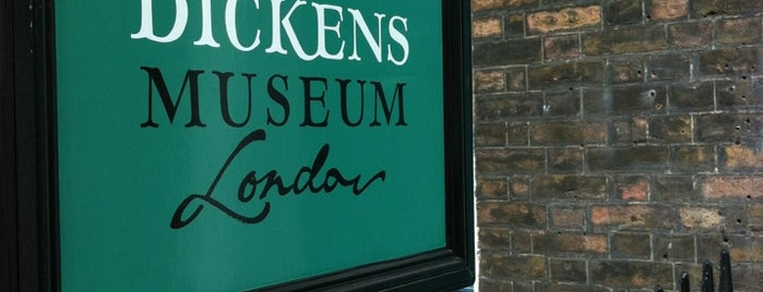 Charles Dickens Museum is one of Pleasure Spots in the UK.