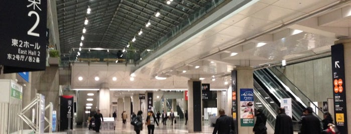 East Exhibition Hall is one of Lugares favoritos de Hiroshi.