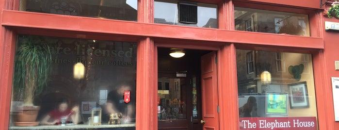 The Elephant House is one of Edimburgo.