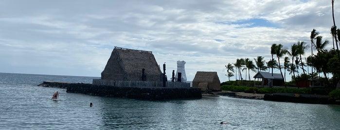 Kamakahonu Beach is one of 🏝 The Big Island 🏝.