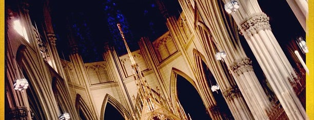St. Patrick's Cathedral is one of Manhattan Favorites.