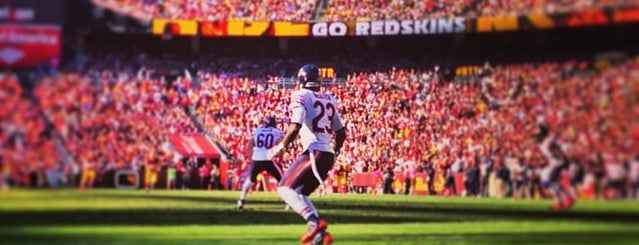 FedEx Field is one of #UberApproved in DC.