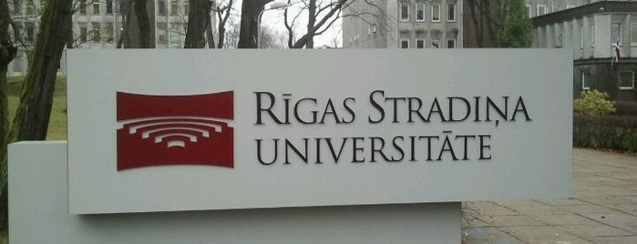 Rīgas Stradiņa universitāte | RSU is one of Lieux qui ont plu à Zane.