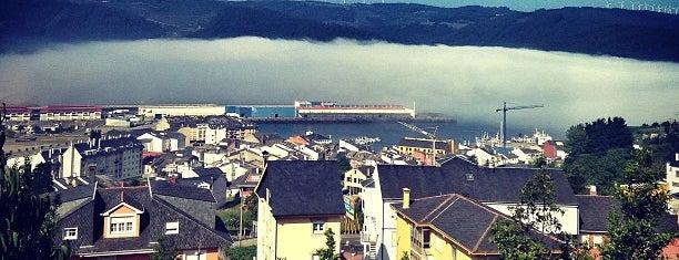 Viveiro is one of Galicia: Lugo.