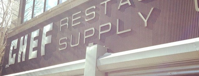 Chef Restaurant Supply is one of Big Apple.