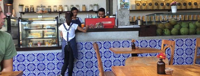 Watercress Cafe Ubud is one of Lieux sauvegardés par George.