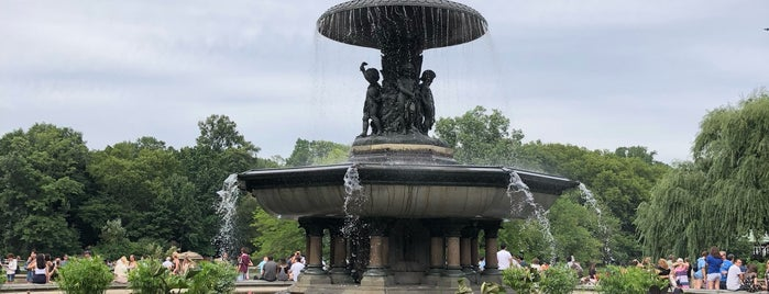Bethesda Fountain is one of Orte, die Barry gefallen.