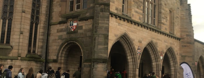 Elphinstone Hall is one of University of Aberdeen.