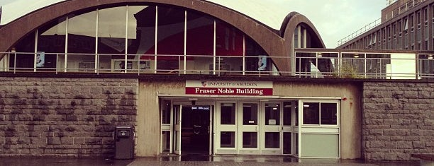 Fraser Noble Building is one of University of Aberdeen.