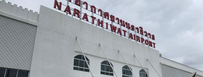 Narathiwat Airport (NAW) ท่าอากาศยานนราธิวาส is one of การเดินทาง ( Travel ).